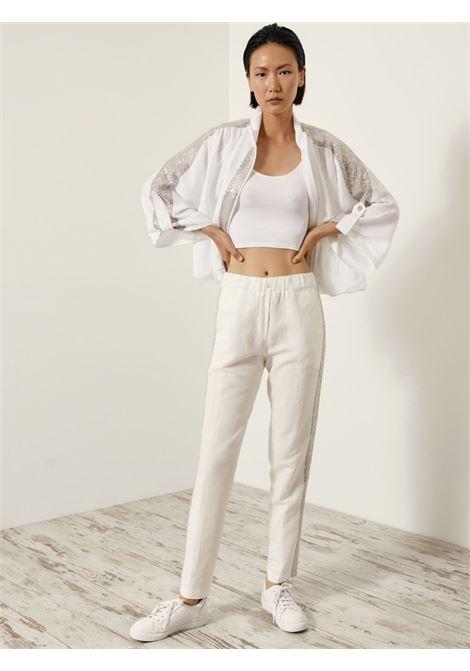 trousers ACC ESS Fashion   Pantalone   5046-119OFF-WHITE