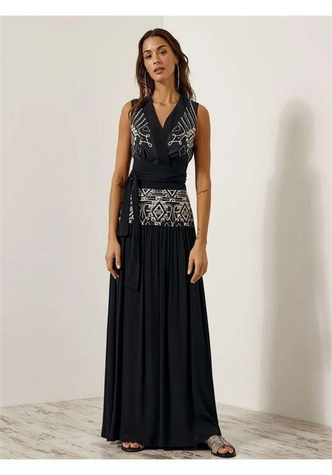 Maxi gonna etnico ACC ESS Fashion | Gonna | 6026-307BLACK