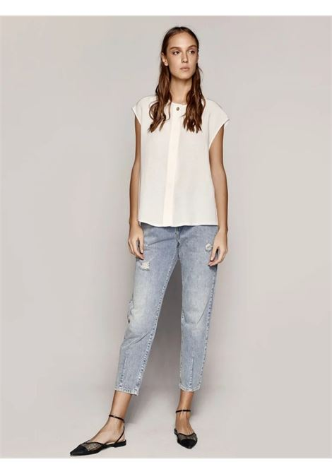 Camicia boxy ACC ESS Fashion | Camicia | 7033-128OFF-WHITE