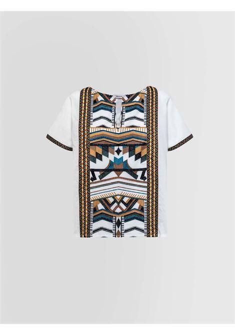 Camicia tunica Alpha Studio | Camicia | AD-5851/C9000