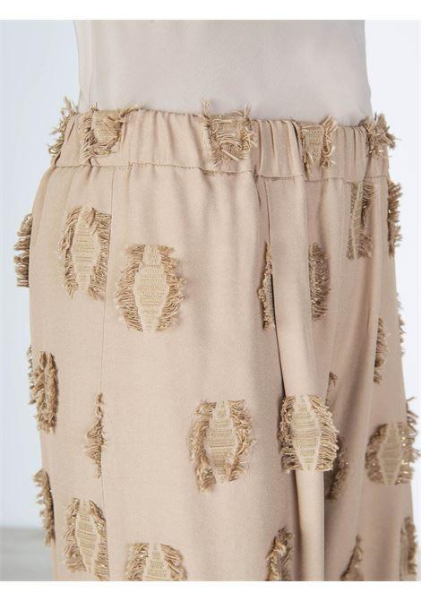 Pantalone morbido Alysi | Pantalone | 101165NUDO