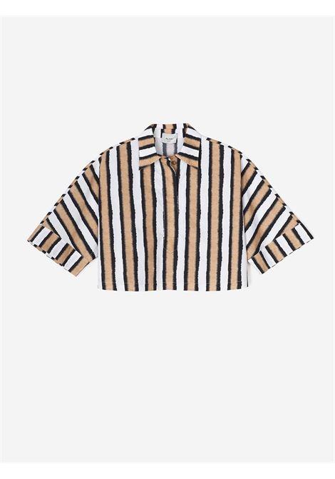 Camicia boxy Alysi | Camicia | 101222-P1024CRETA
