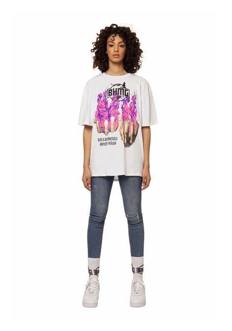T-Shirt Logata BHMG | T-shirt | 029108BIANCO