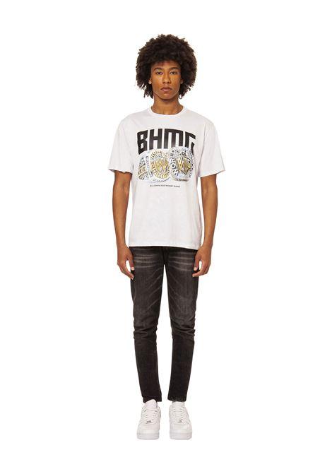 T-shirt stampata BHMG | T-shirt | 029111BIANCO