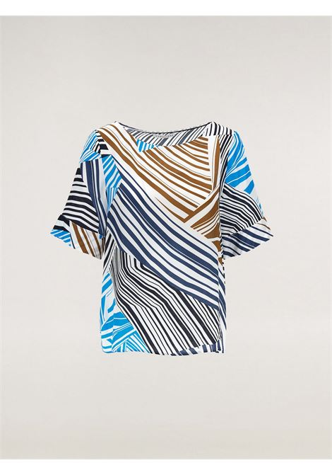 Blusa in twill Caractère | Blusa | 2148A0-417641