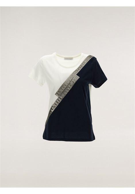 T-shirt block color Caractère | T-shirt | G122D0-88B502
