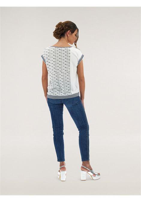 T-shirt bimaterica Caractère | T-shirt | G185D0-88B201