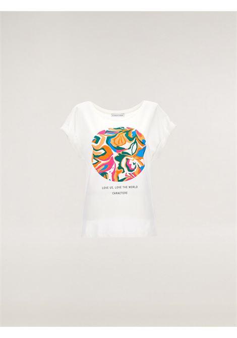 T-shirt in jersey Caractère | T-shirt | G204D0-88Q1S2