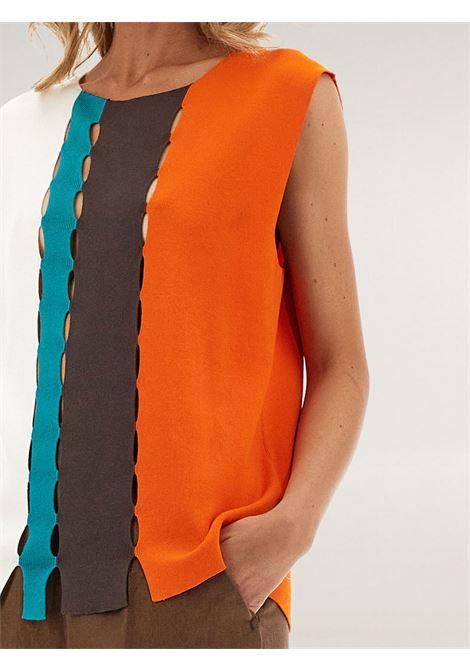 Maglia block color Caractère | Canotta | M232D0056MC1