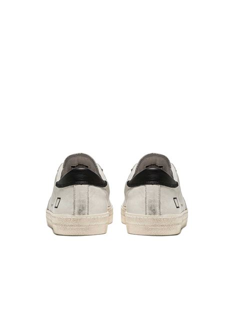 hill low vintage calf D.A.T.E. | Sneakers | M341-HL-VC-WBWHITE-BLACK