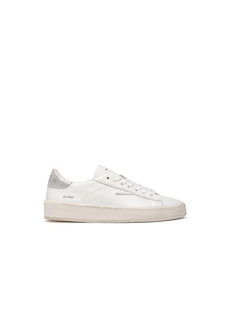 ACE POP WHITE-SILVER D.A.T.E. | Sneakers | W341-AC-PO-WSWHITE-SILVER