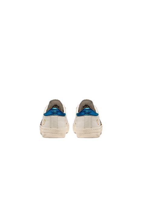 hill low pony D.A.T.E. | Sneakers | W341-HL-PN-WEWHITE-BLUETTE