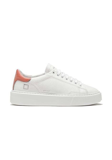 sfera calf D.A.T.E. | Sneakers | W341-SF-CA-WPWHITE-PINK