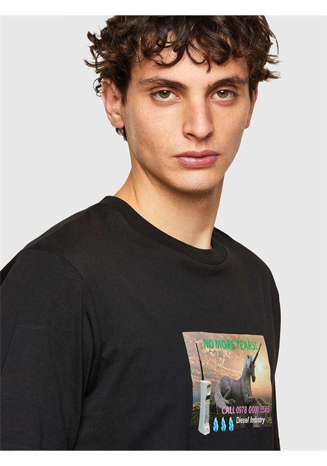 T-Shirt T-just a34 Diesel   T-shirt   A01843-0HAYU9XX