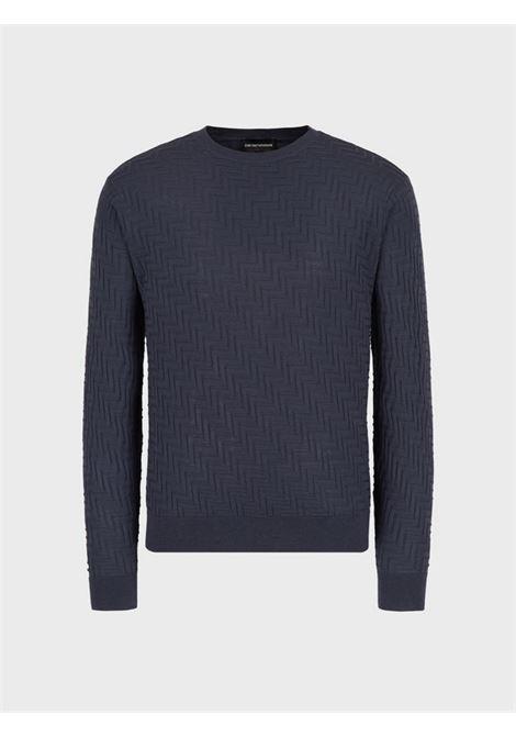 Maglione in lana vergine Emporio Armani   Pullover   3K1MX9-1MZSZ0679