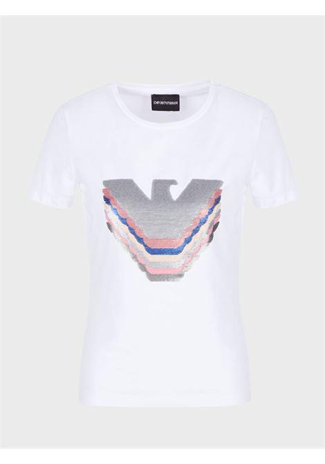 T-Shirt in jersey Emporio Armani | T-shirt | 3K2T6A-2JQAZ0100
