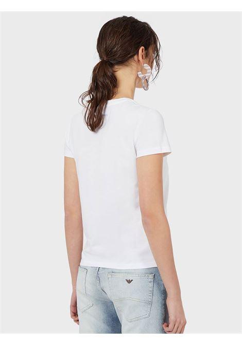 T-Shirt in jersey Emporio Armani   T-shirt   3K2T6D-2JQAZ0100