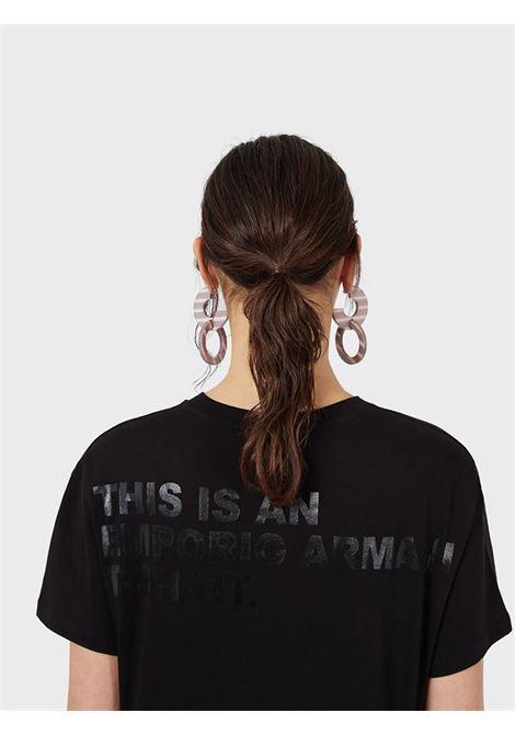 T-Shirt in jersey Emporio Armani   T-shirt   3K2T7X-2J53Z0999