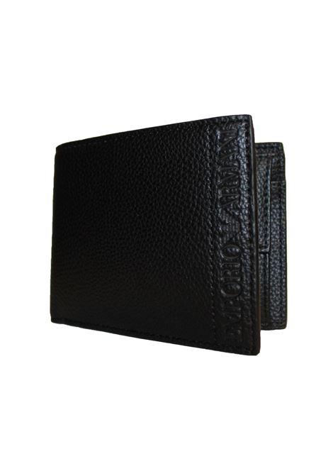 Portafoglio bi-fold Emporio Armani | Portafogli | Y4R165-YG89JNERO