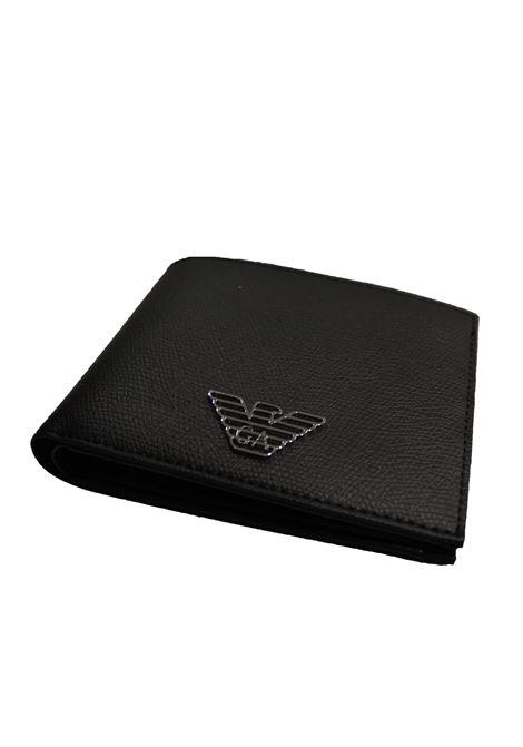 Portafoglio bi-fold Emporio Armani | Portafogli | Y4R166-YDS4ENERO