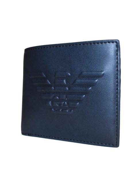 Portafoglio bi-fold Emporio Armani | Portafogli | Y4R168-YG90JBLU