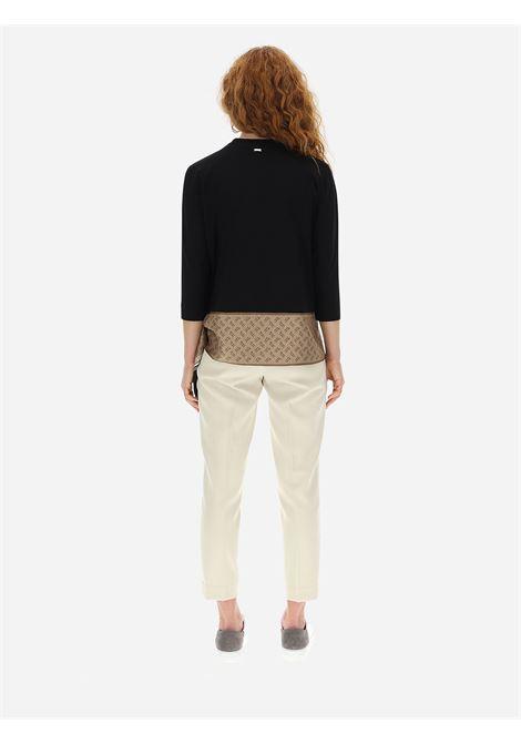 T-shirt con foulard Herno | Blusa | JG0016D-520039300