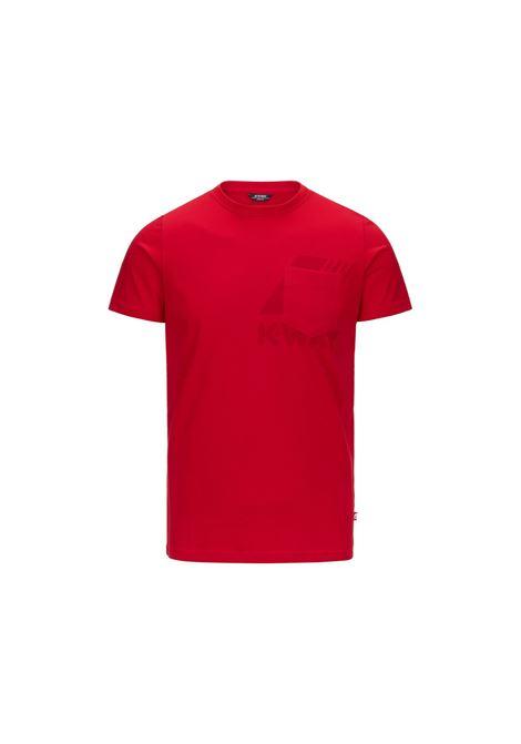 t-shirt ros K-Way | T-shirt | K51121WQ03
