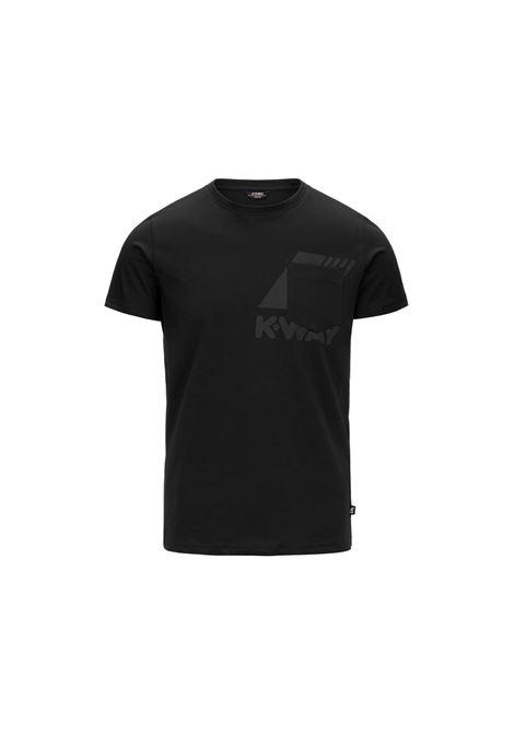 t-shirt ros K-Way | T-shirt | K51121WUSY