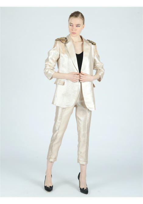golden jacket Le Volière | Jacket | WS21C059GGOLD