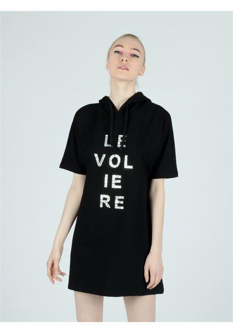 hoodie dress Le Volière | Abito | WS21D035BBLACK