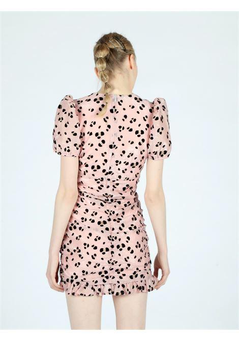 pink animalier dress Le Volière   Abito   WS21D052PPINK