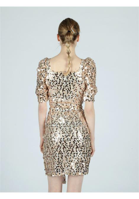 golden sequins skirt Le Volière | Gonna | WS21S063GGOLD