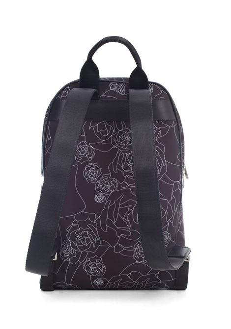 Nylon Backpack Print Les Hommes | Zaino | LKA152283P9001