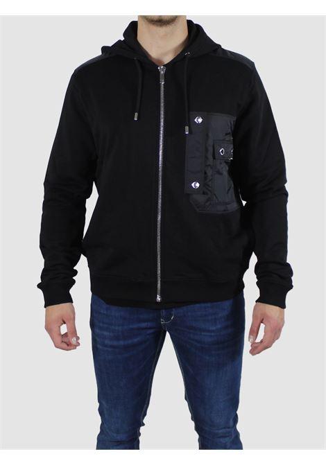 hoodie nylon pocket Les Hommes | Felpa | LKH403756A9000