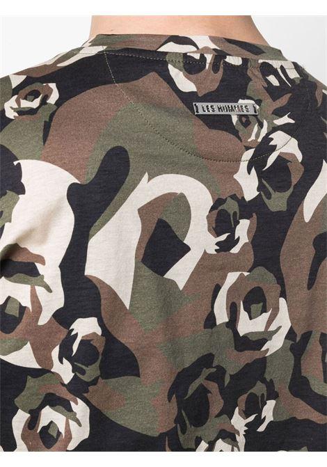 T-shirt camouflage Les Hommes | T-shirt | LKT231703P9033