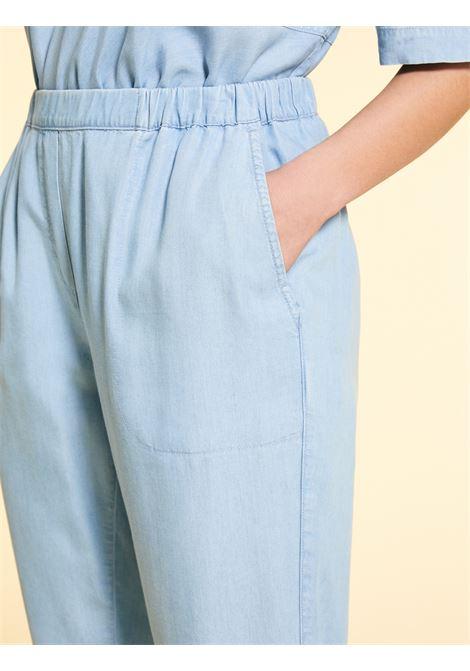 Pantaloni in denim tencel Marina Rinaldi Sport | Pantalone | IDROFORO049