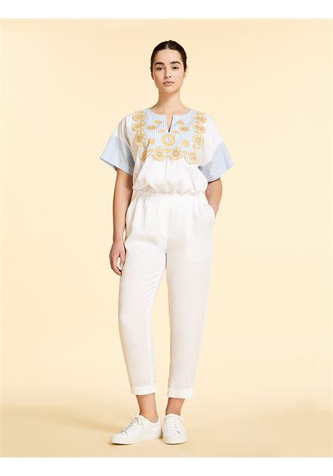 pantalone lungo in lino Marina Rinaldi Sport   Pantalone   RENDERE002