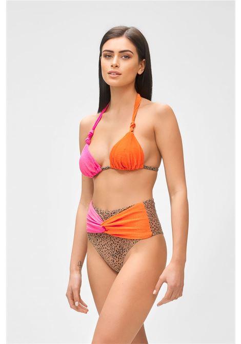 Bikini Triangolo e slip retrò fisso Me Fui | Costume | M21-0461X1FANTASIA