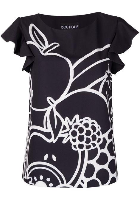 T-shirt con ruches Moschino Boutique | Camicia | A0211-8401555