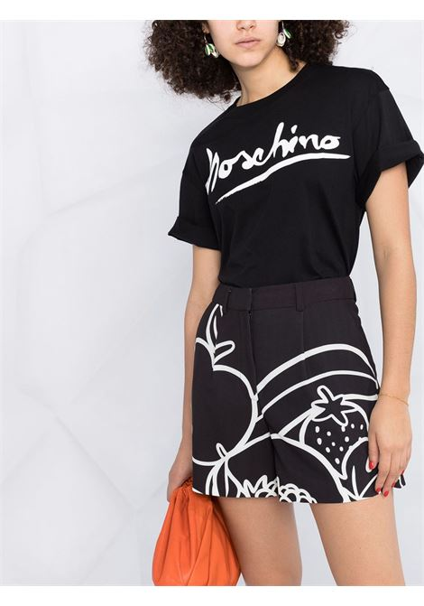 Shorts con stampa Moschino Boutique | Shorts | A0314-8401555
