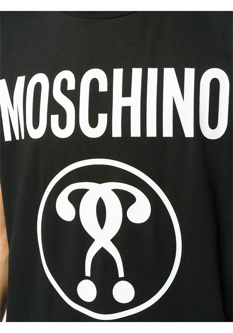 T-shirt con stampa Moschino Couture | T-shirt | 07061555