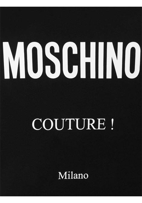 Felpa logata Moschino Couture | Felpa | 17291555