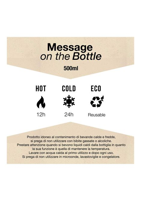 Borraccia termica Pandorine | Borraccia | MOTBIMPERFEZIONI