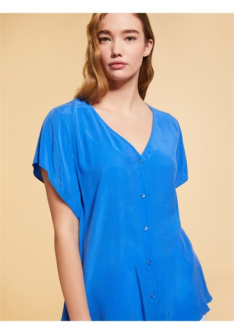 Camicia in tessuto fluido Persona By Marina Rinaldi | Camicia | BIMBO050