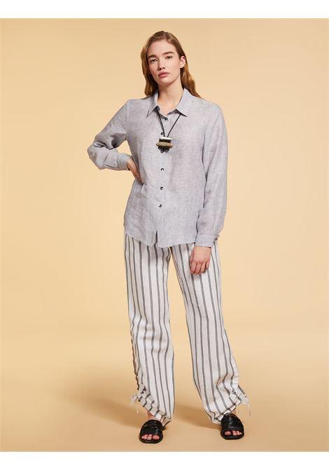 Camicia in lino leggero tinto Persona By Marina Rinaldi | Camicia | BOX081