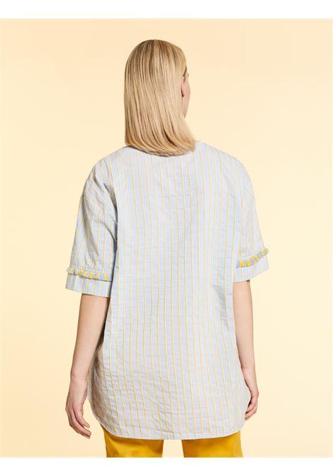 Blusa in cotone seersucker Persona By Marina Rinaldi | Casacca | FILOLOGO79