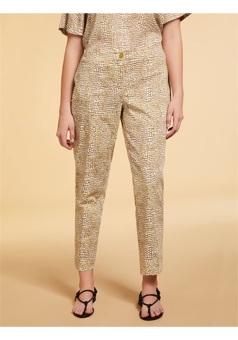 Pantaloni in raso Persona By Marina Rinaldi | Pantalone | RICCI080