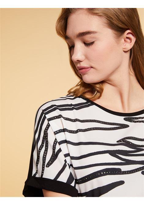 t-shirt jersey in viscosa stretch Persona By Marina Rinaldi | T-shirt | VALUTA074