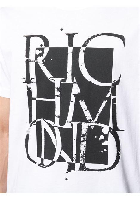 T-shirt Oklabia John Richmond   T-shirt   RMP21022TSA8W0150
