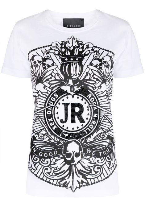 T-Shirt Dodige John Richmond | T-shirt | RWP21103TSA8W0150